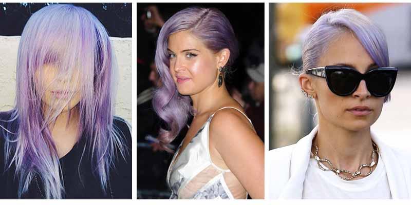 Lilac Hair model Ireland Baldwin, Presenter Kelly Osboune and Celebrity Nicole Richie