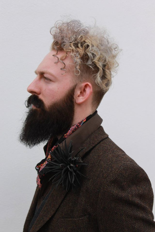 mens hair beard steve clewlow