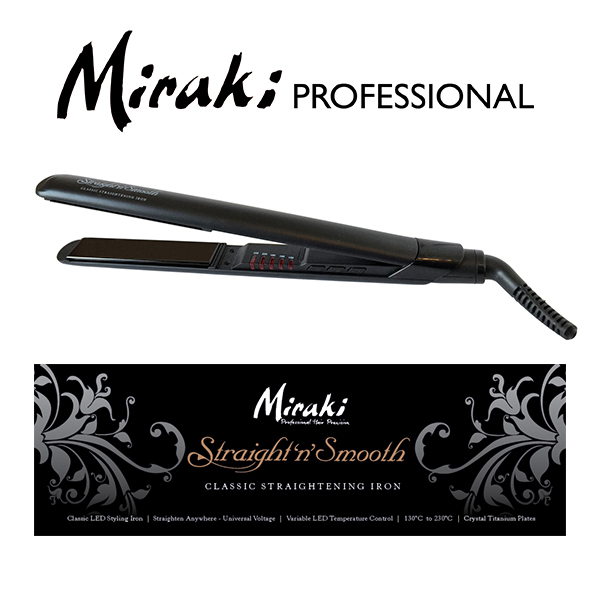 Miraki Straight & Smooth.
