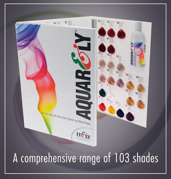 Итальянские краски для волос профессиональные палитра
