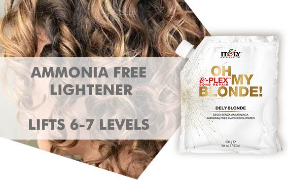 Dely Blonde ammonia free bleach