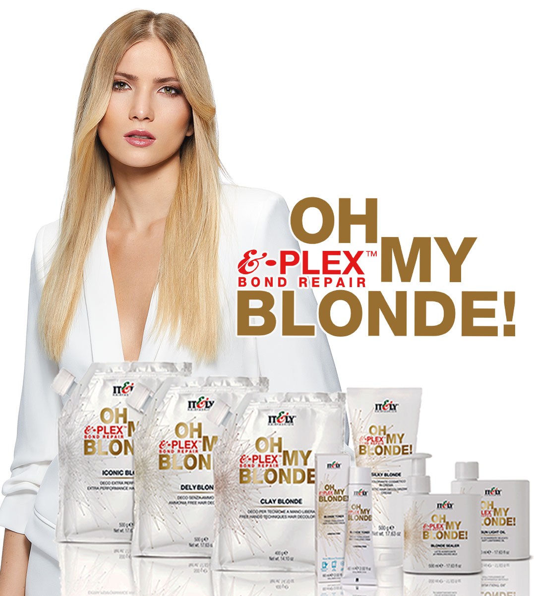 oh my blonde bleach range