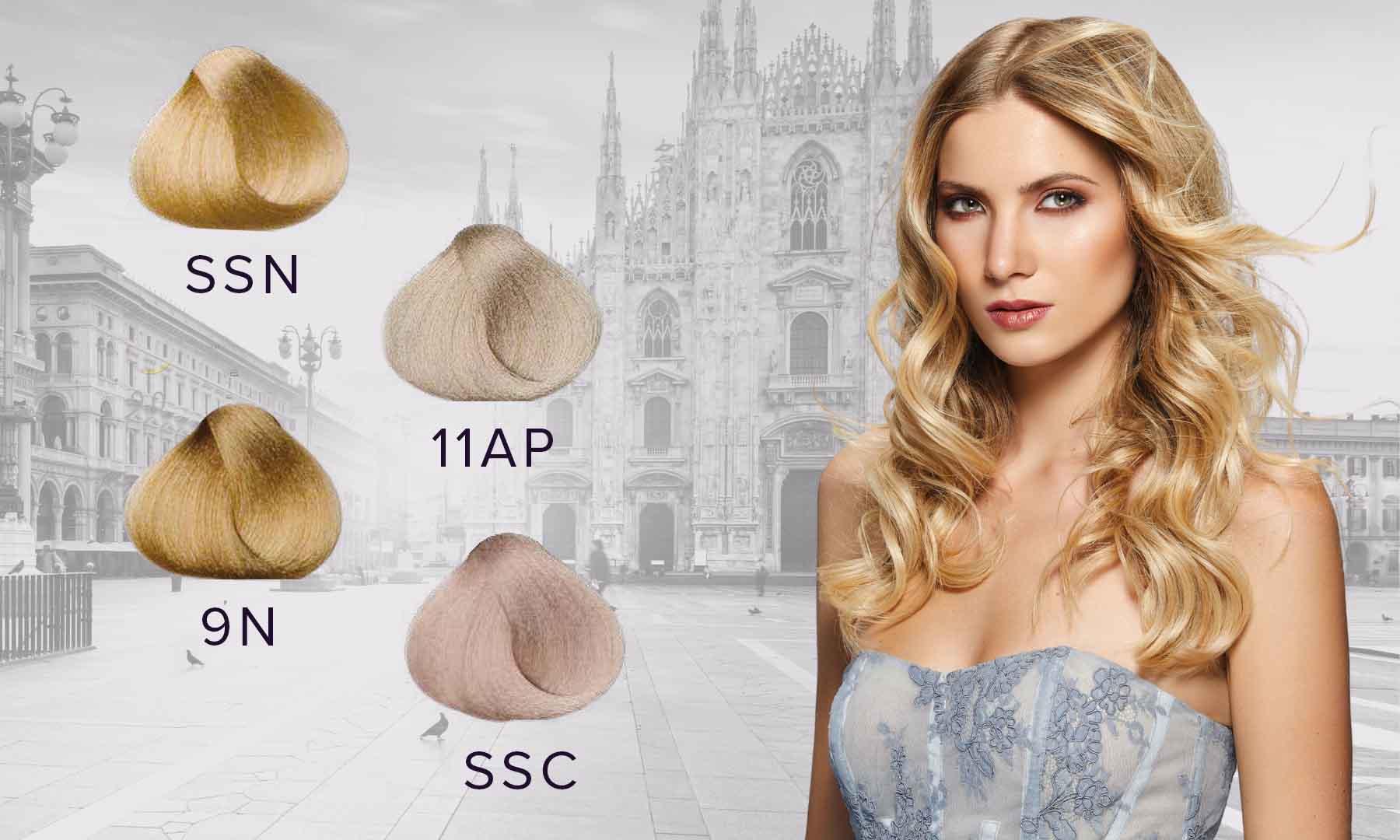 Aquarely blonde shades