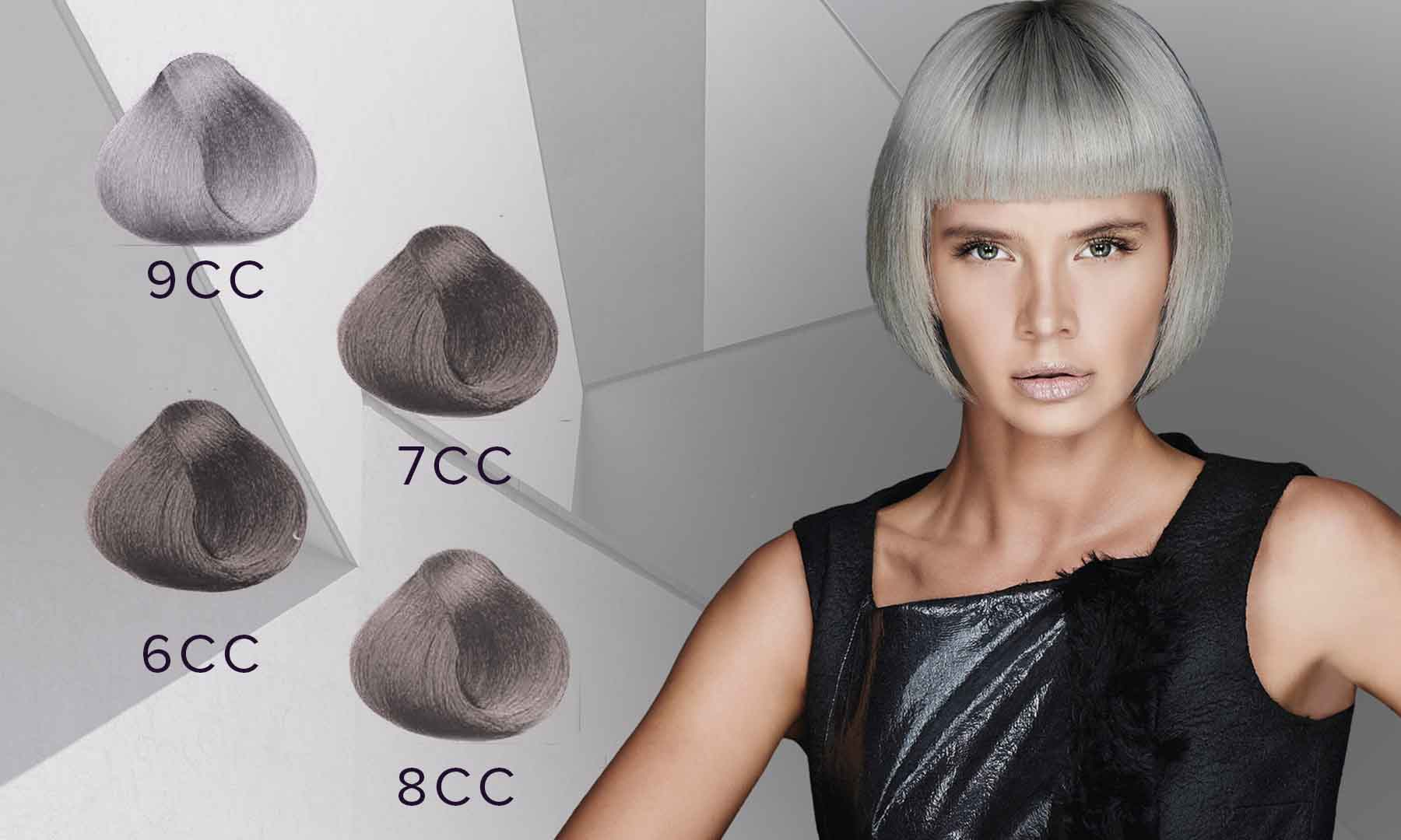 Intense ASh - silver and grey shades